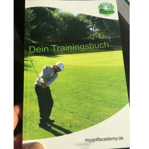 Golf-Trainingsbuch