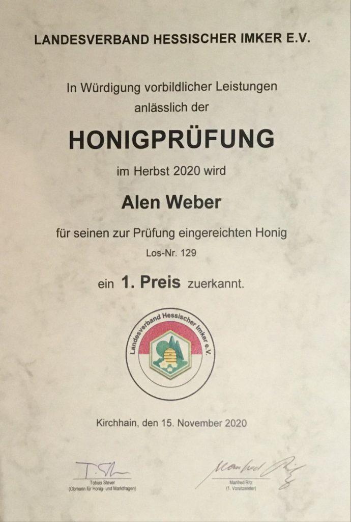 Honigprämierter Honig-Imkerei-webers-honigtopf-so-sehen-sieger-aus-bester-honig-aus-hessen