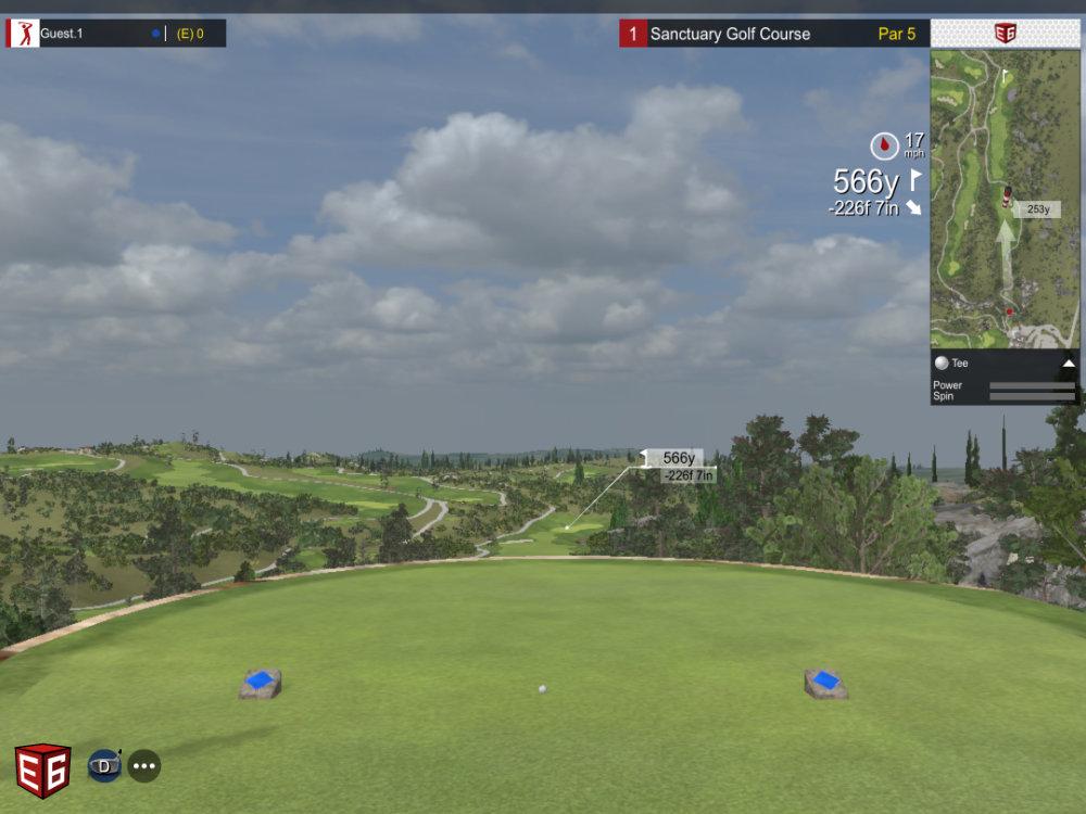 2 Golfsimulator-Flightscope-Mevo-Plus-Wintertraining-golfclub Spessart-My-golf-academy